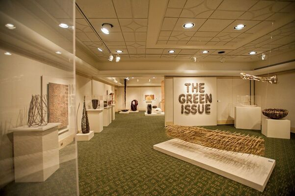 Green from the Get Go: International Contemporary Basketmakers, installation view