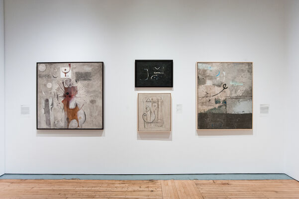 Taking Shape: Abstraction from the Arab World, 1950s–1980s, installation view