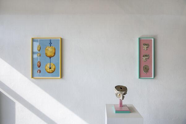 Rupahu Island Drawings, installation view