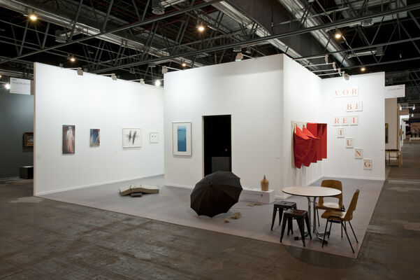 Galerie Jocelyn Wolff at ARCOmadrid 2015, installation view