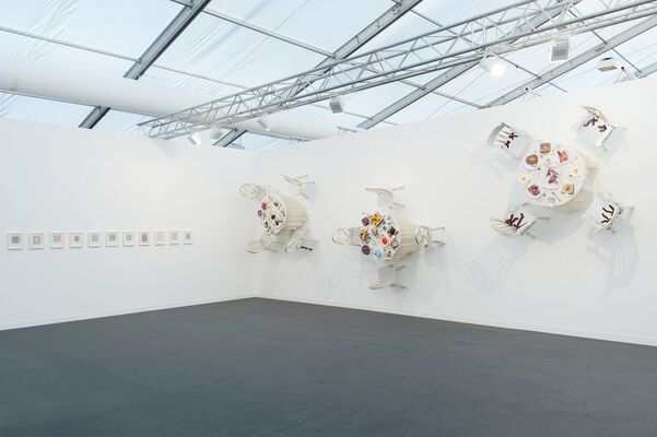 CANADA at Frieze London 2016, installation view