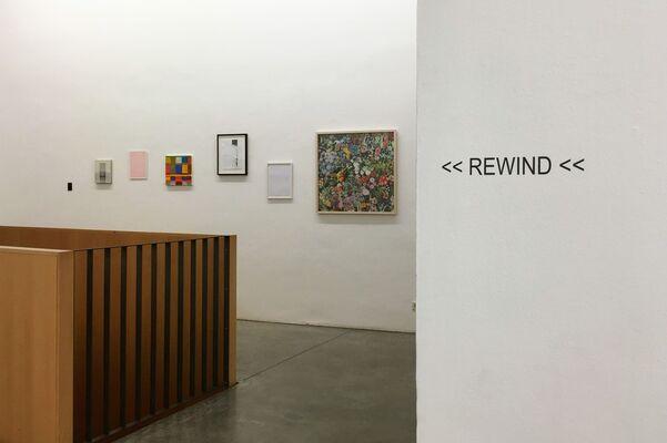 REWIND, installation view