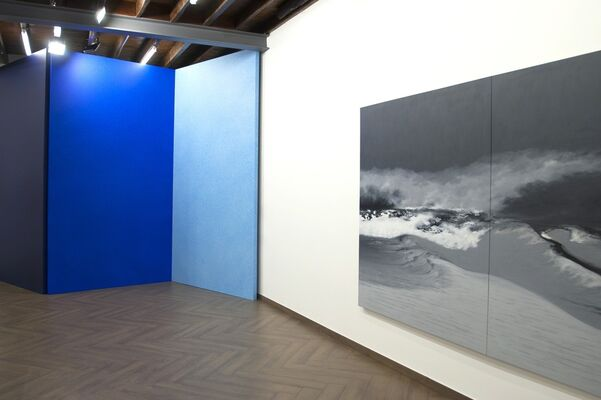 The Switch | Blue, installation view