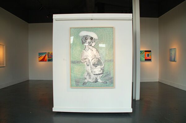 Straight From Mexico City, installation view