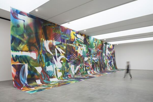 Katharina Grosse: Prototypes of Imagination, installation view
