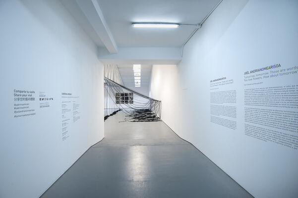 Tomorrow, tomorrow  Those are words.  You love flowers.  How about tomorrow?, installation view