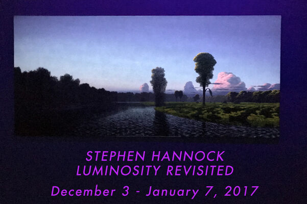 Stephen Hannock - LUMINOSITY REVISITED, installation view