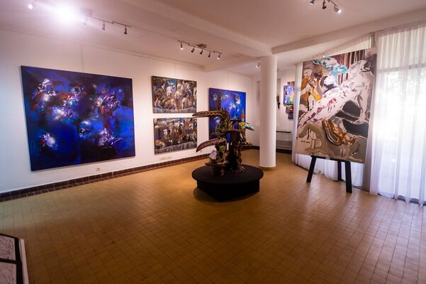 Oeuvres, installation view