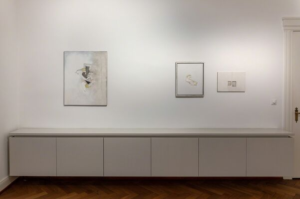 Christian Haake. on displays, installation view