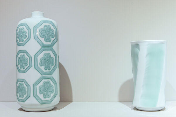 Inoue Manji, Living National Treasure: Pursuing the Ultimate Beauty of White Porcelain, installation view