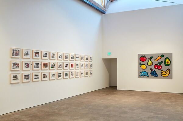 Into the white cube, installation view