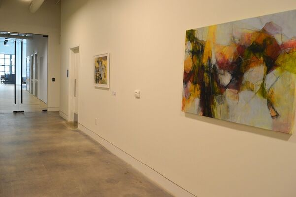 Kevin Broad and Rebecca Schultz at East Market, installation view