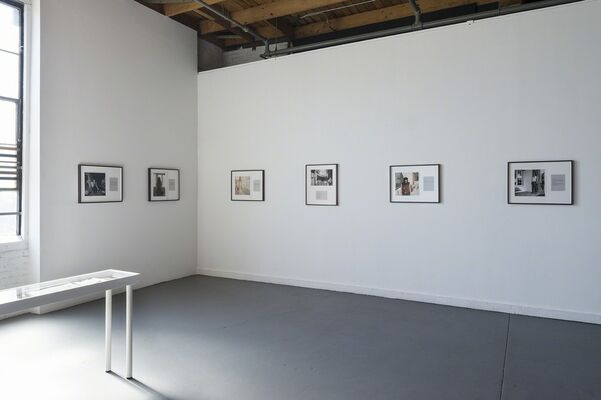 What She Said, installation view