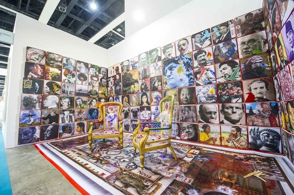 Wei-Ling Gallery at Art Basel in Hong Kong 2015, installation view
