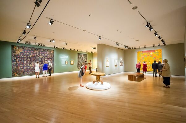 American Made: Treasures from the American Folk Art Museum, installation view