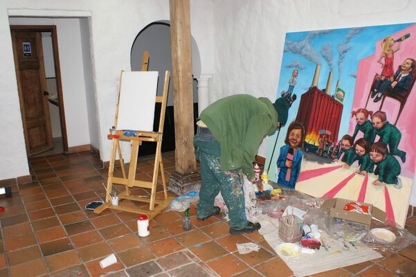 """SADDASDADAS ADASJHKL"" Santiago Oliveros - Sako Asko, installation view"