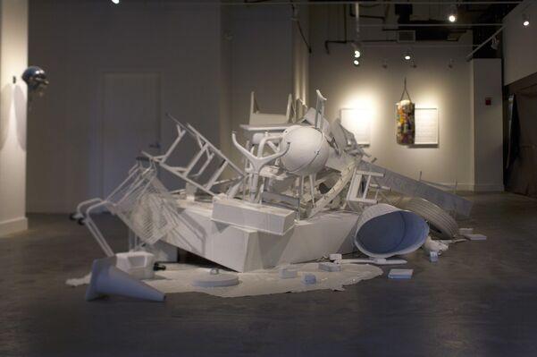 RAISING A RIOT | jc lenochan, installation view