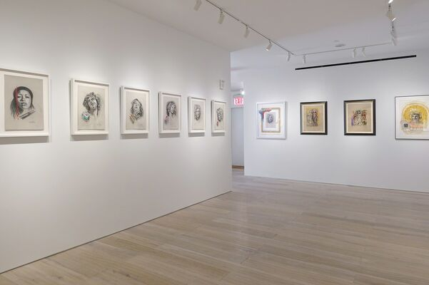 Audrey Flack: Master Drawings from Crivelli to Pollock, installation view