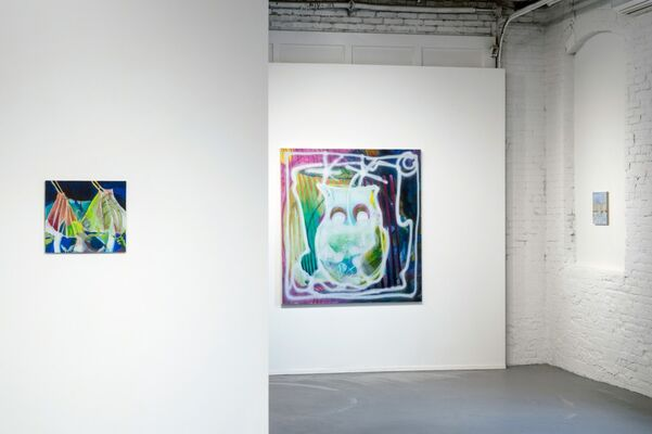 WHAT IF YOU SLEPT, installation view