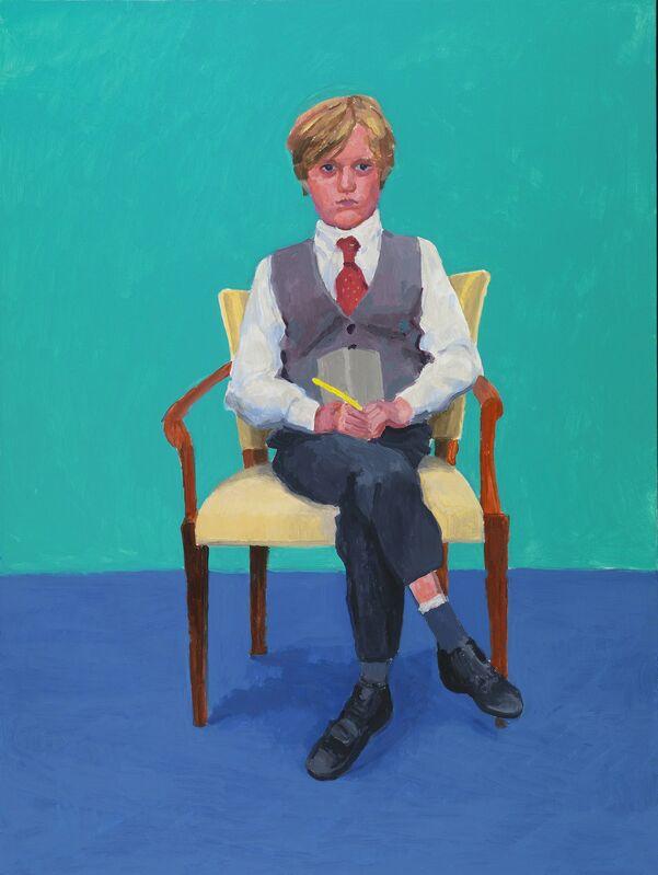 David Hockney, 'Rufus Hale', 2015, Painting, Acrylic on canvas, Royal Academy of Arts