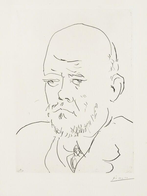 Pablo Picasso, 'Portrait de Vollard IV (Bloch 233)', 1937, Print, Etching, Forum Auctions