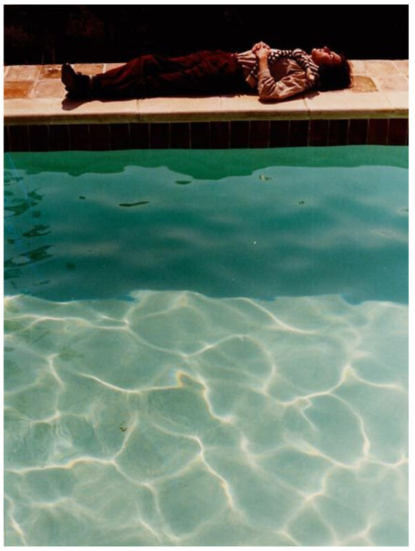 David Hockney, 'Yves-Marie asleep', 1974, Photography, Chromogenic print, FLATLAND