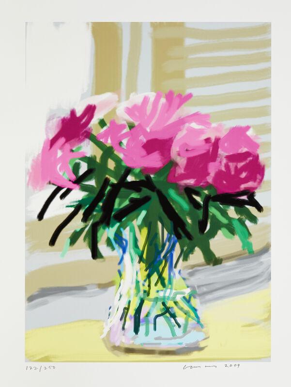 David Hockney, 'My Window, No.535', Print, Inkjet print in colours on cotton fibre archival wove, Roseberys