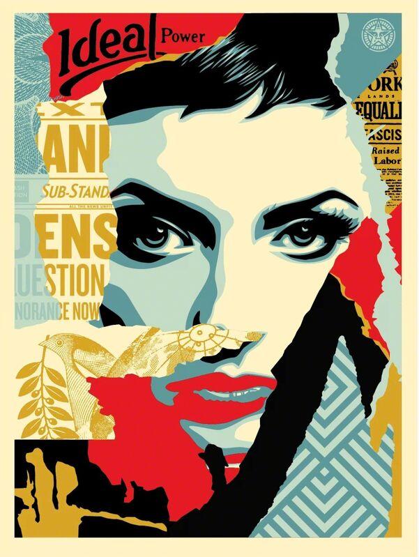 Shepard Fairey, 'Ideal Power', 2017, Print, Screenprint, Art for ACLU Benefit Auction