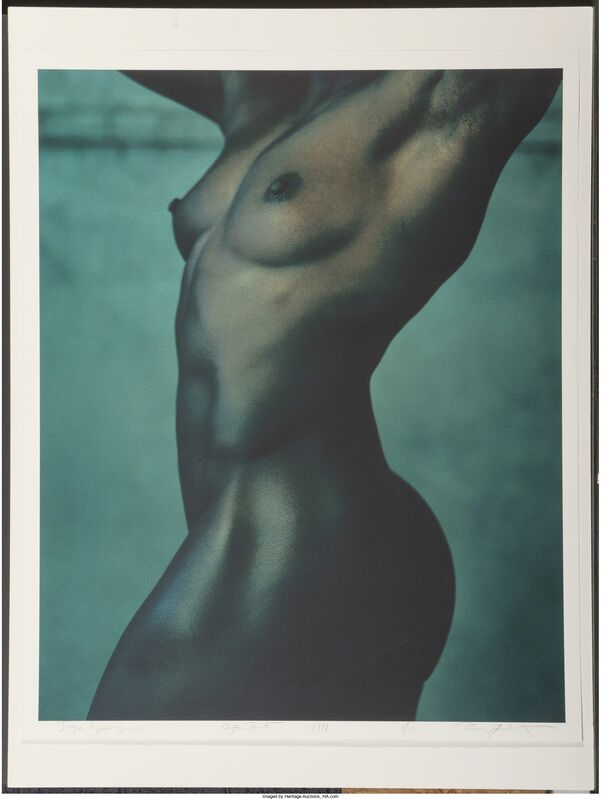 Annie Leibovitz, 'Jacqui Agyepong, Sprinter/Hurdler, Clifton Point, Rhinebeck, New York', 1999, Photography, Digital pigment print, Heritage Auctions
