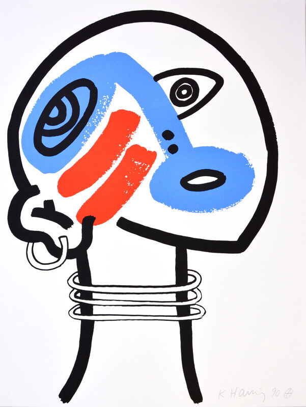 Keith Haring, 'The Story of Red and Blue', 1990, Print, Portfolio of 20 Colour Lithographs on Paper, Shapero Modern