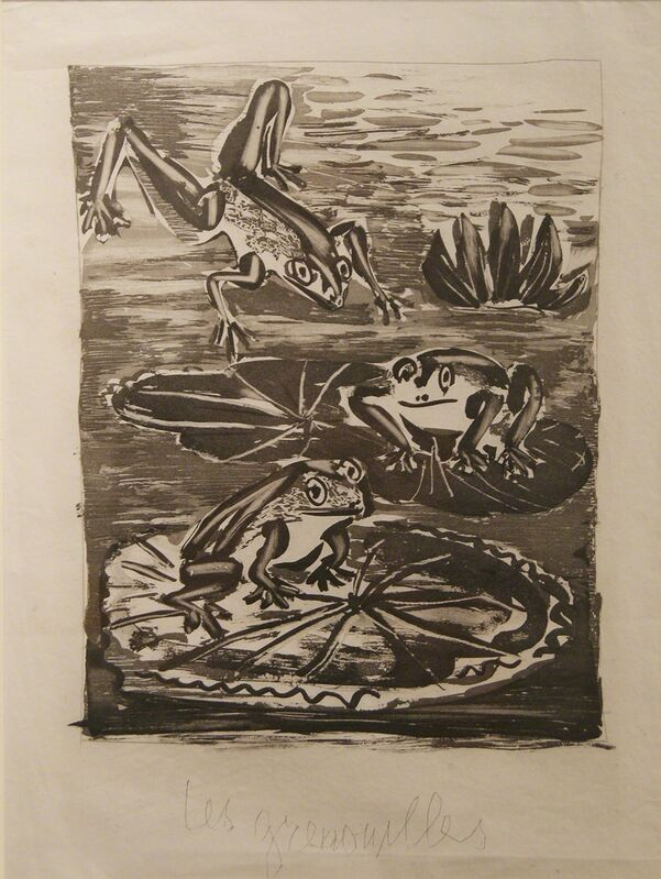 Pablo Picasso, 'La Grenouille', 1942, Print, Etching with aquatint with title on Imperial Japan paper, Cristea Roberts Gallery