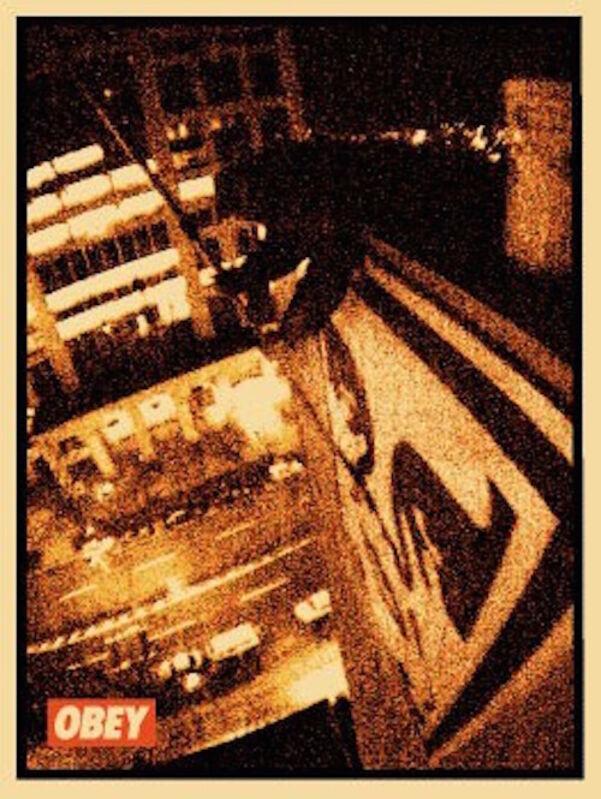 Shepard Fairey, 'Tokyo Roof', 2001, Print, Screen Prnt, Dope! Gallery