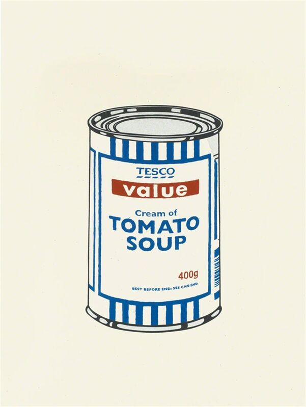 Banksy, 'Soup Can (Original Colour) - Unsigned', 2005, Print, Screen print on paper, Hang-Up Gallery
