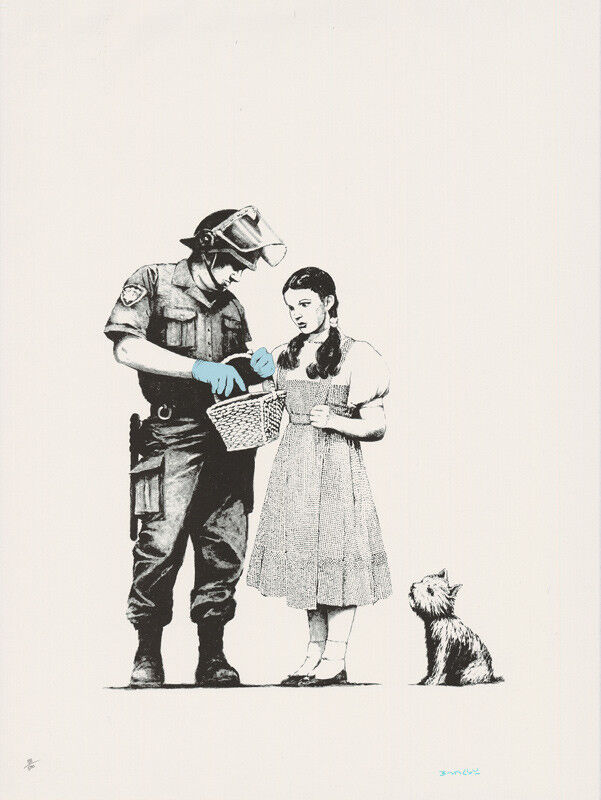 Banksy, 'Stop and Search', 2007, Print, Screenprint on paper, Taglialatella Galleries