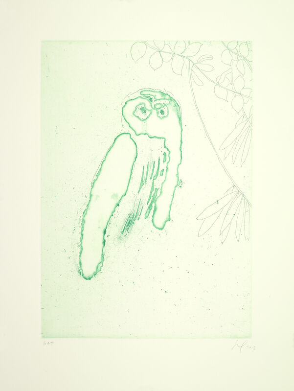 Peter Doig, 'Owl (Boscoe)', 2013, Print, Etching with aquatint, Two Palms