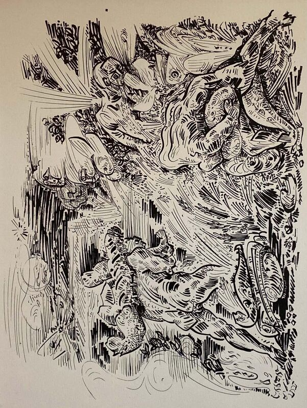 André Masson, 'Untitled', 1961, Print, Lithograph, Lions Gallery