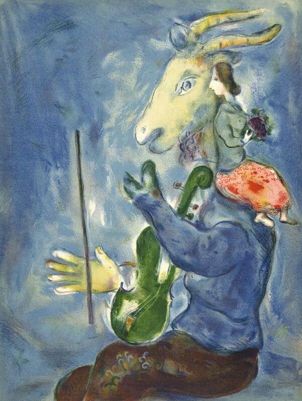 Marc Chagall, 'Printemps (Spring)', 1938, Print, Original lithograph on wove paper, Samhart Gallery