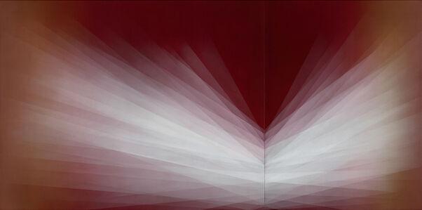 Bernadette Jiyong Frank, 'Refraction (Crimson)', 2020