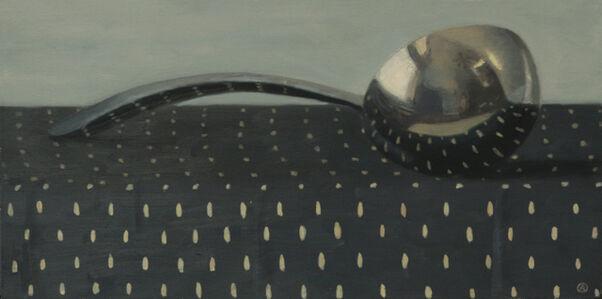 Olga Antonova, 'Ladle on Blue and Gold', 2018