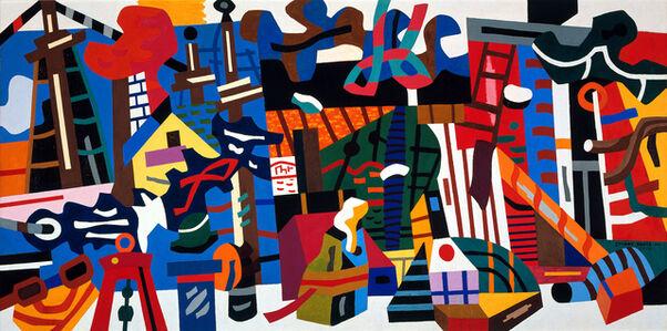 Stuart Davis, 'Swing Landscape', 1938