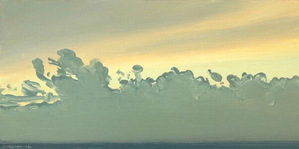 Lisa Grossman, 'Green Cloud Sketch', 2012