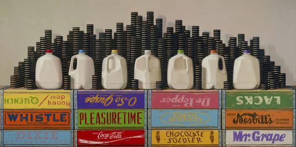 Robert C. Jackson, 'Phases of The Milk', 2019