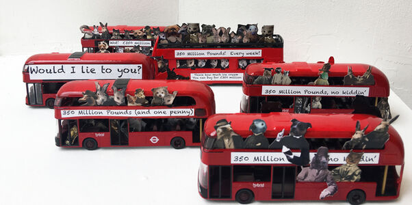 Charlotte Cory, 'On a crowded Visitorian bus collection', 2019