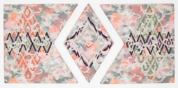 Cecilia Charlton, 'A Certain Slant of Light (Labyrinthine Pathways of Diamonds) ', 2020