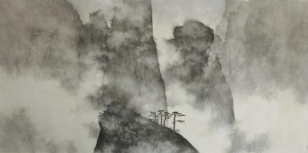 Li Huayi, 'Mountains Hidden in Clouds and Mist', 2008