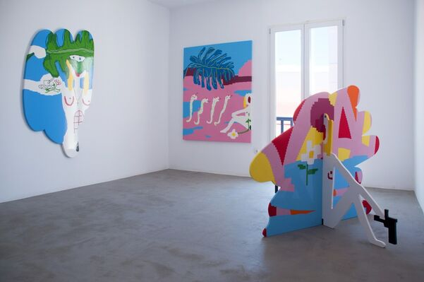 I Will Find you - Maja Djordjevic Solo Show, installation view