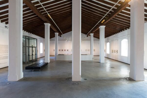 """Cy Twombly: LUX"" at the Museu d'Art Contemporani d'Eivissa, Ibiza, Spain, installation view"