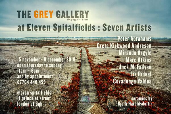 Grey Galley at Eleven Spitalfields: 7 Artists, installation view