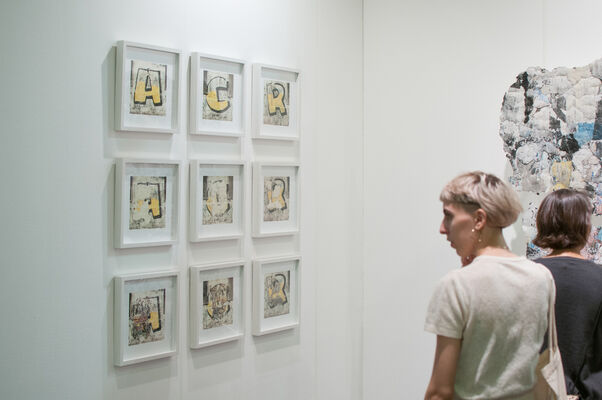 Acéfala at arteBA 2019, installation view