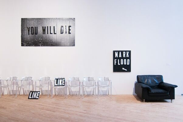Mark Flood: Gratest Hits, installation view